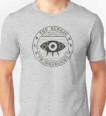 The Bureau Underground Seal Vintage Dark Unisex T-Shirt