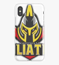 Gotham Goliaths iPhone Case/Skin