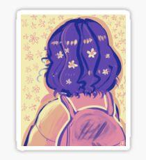 petals. Sticker