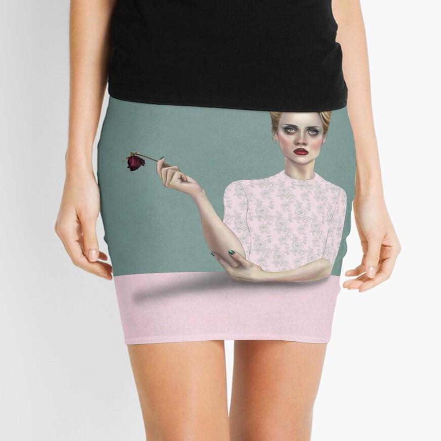Rose Mini Skirt