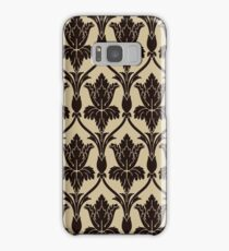 Baker Street 221b Wallpaper Samsung Galaxy Case/Skin