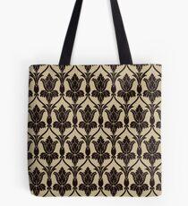 Baker Street 221b Wallpaper Tote Bag
