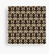 Baker Street 221b Wallpaper Canvas Print