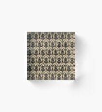 Baker Street 221b Wallpaper Acrylic Block
