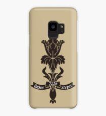 Baker Street flower Case/Skin for Samsung Galaxy