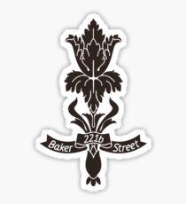 Baker Street flower Sticker