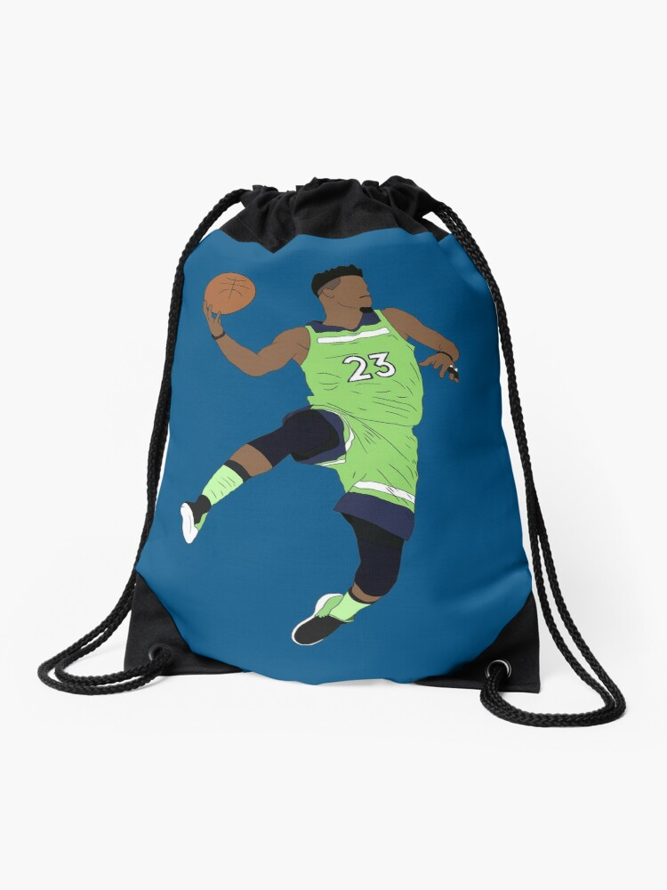 Jimmy Butler Wolves Drawstring Bag By Rattraptees Redbubble