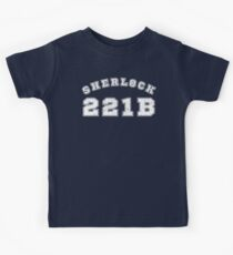 Team Sherlock Kids Tee