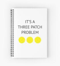 A Three Patch Problem Spiral Notebook