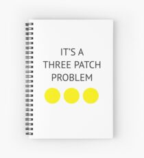 A Three Patch Problem Spiral Notebook