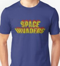 Space Invaders Arcade Type Unisex T-Shirt
