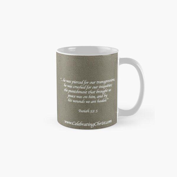 Celebrating Christ Cross - From ccnow.info Classic Mug