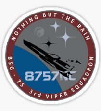 Battlestar Galactica 'Starbuck' Logo Sticker