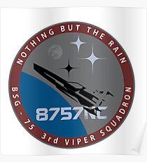 Battlestar Galactica 'Starbuck' Logo Poster