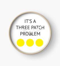 A Three Patch Problem Clock