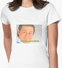 Tim  and Eric Women's Fitted T-Shirt