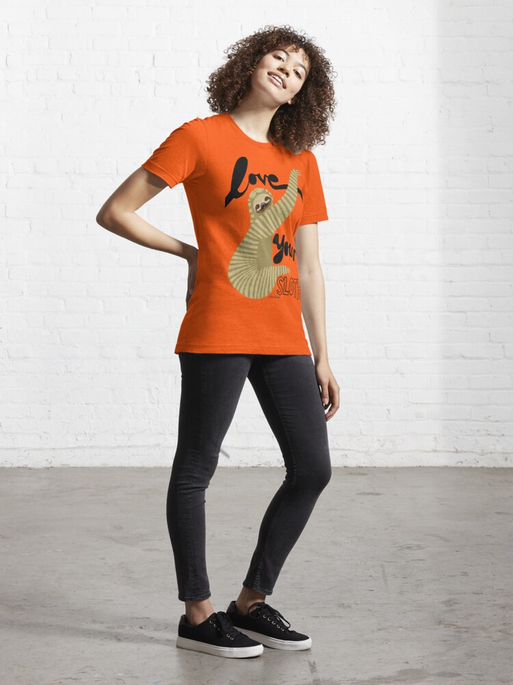 Alternate view of Love your sloth Essential T-Shirt