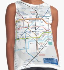 London Underground and City Map - HD Contrast Tank