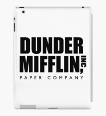 DUNDER MIFFLIN INC iPad Case/Skin