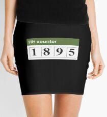 1895 Hit counter Mini Skirt