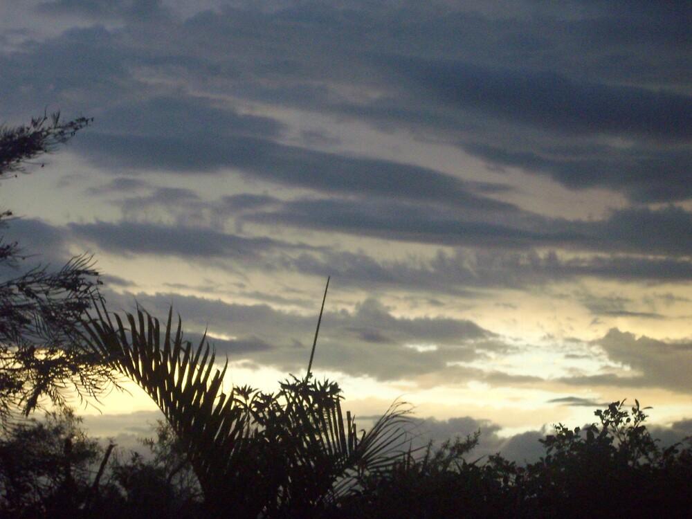 cloudy sunset by kelstar292