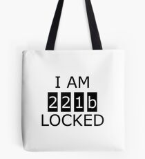 I am 221b locked Tote Bag