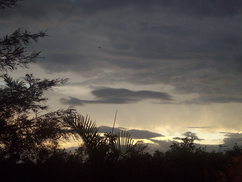 sunset clouds by kelstar292