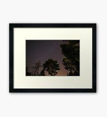 Clear sky. Framed Print
