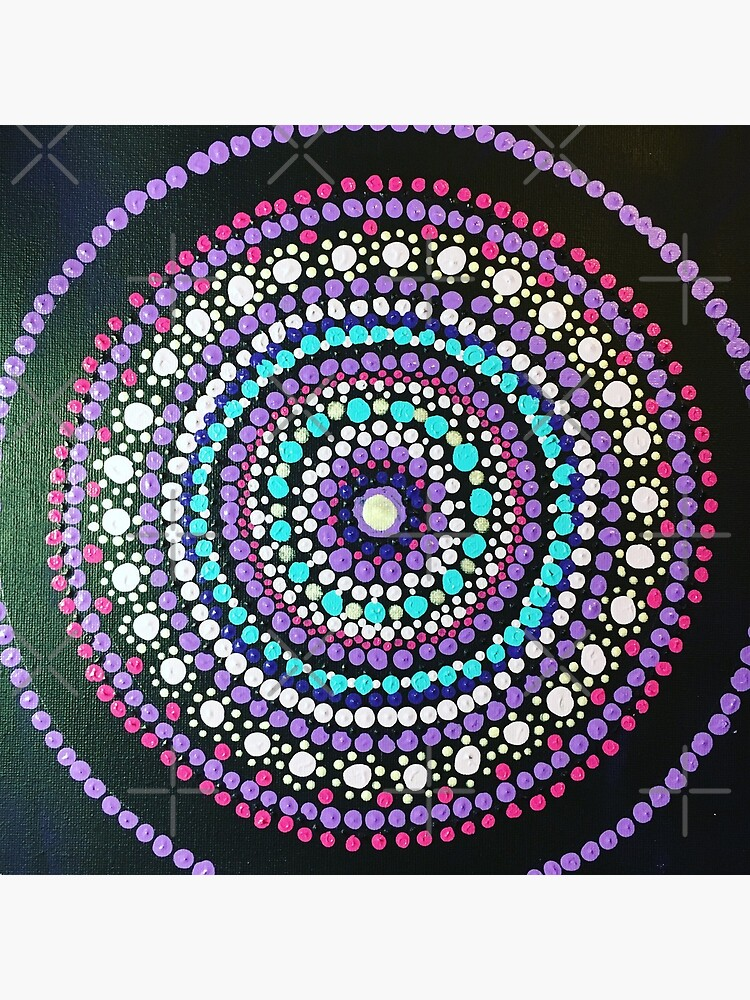 Dotted Mandala  by rosemaryann
