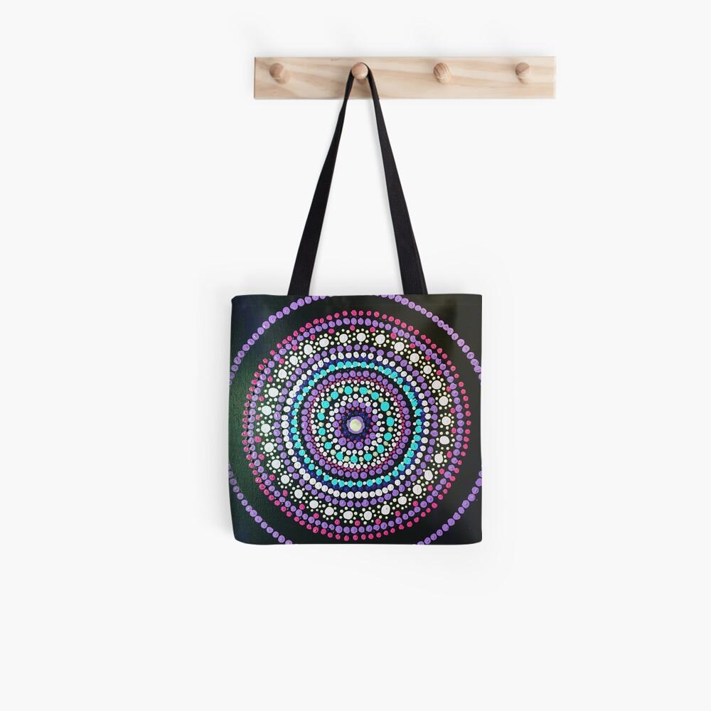 Dotted Mandala  Tote Bag