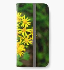 Yellow Spring Flowers in the Grass iPhone Wallet/Case/Skin