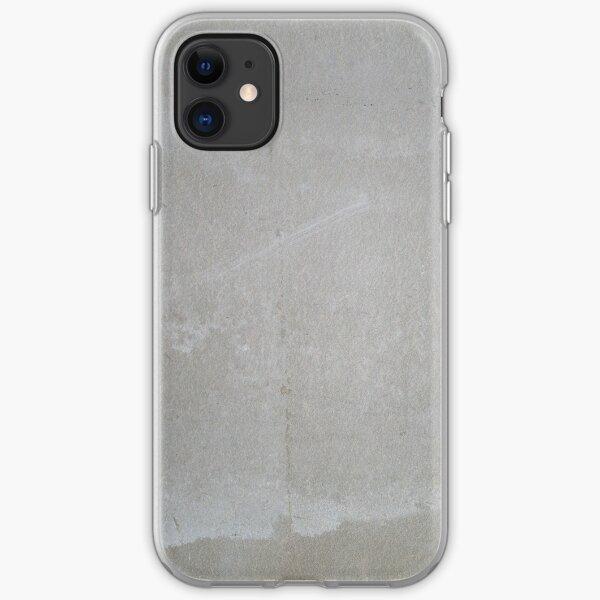 Light gray concrete iPhone Soft Case