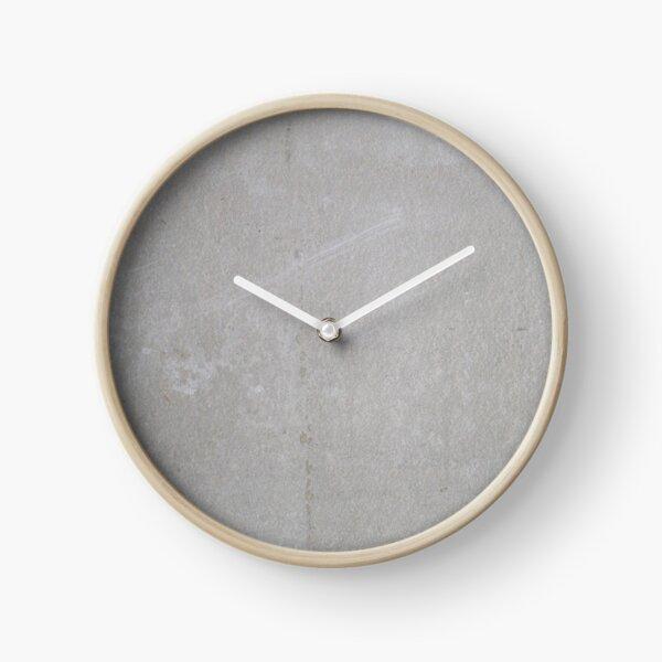 Light gray concrete Clock