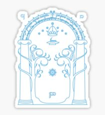 Gate to Moria Sticker