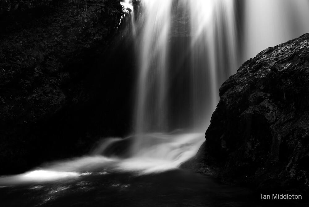 Sum Waterfall in Vintgar Gorge by Ian Middleton