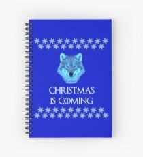 Ugly Christmas Sweater Spiral Notebook