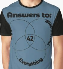 Answer to the Universe Graphic T-Shirt