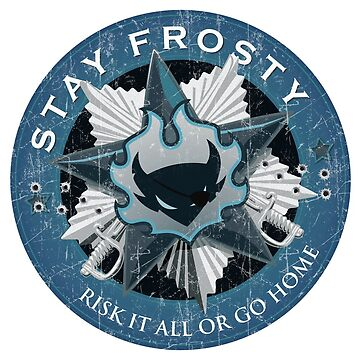 Stay Frosty Grunge Crest by RixxJavix
