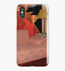 READING CORNER WILSHIRE HOUSE iPhone Case/Skin
