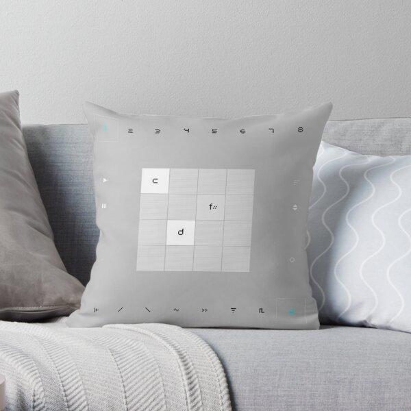Nanoloop Throw Pillow