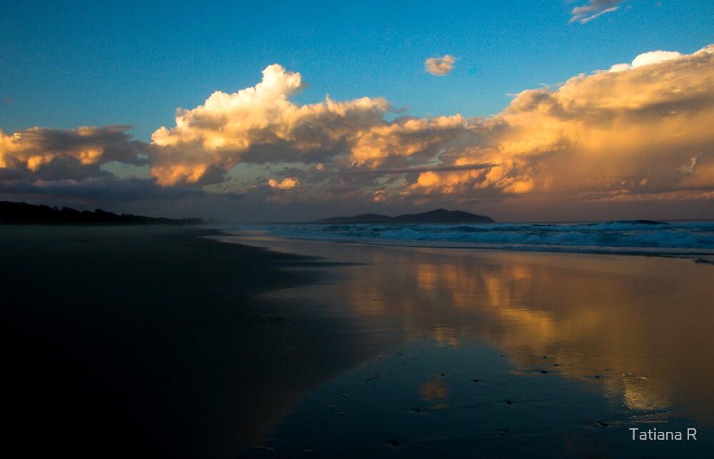 Stormy reflection by Tatiana R