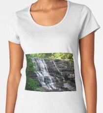 Waterfall in the Woods Women's Premium T-Shirt
