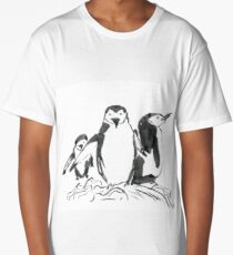 Penguin Family Long T-Shirt
