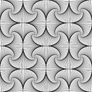 Monochrome Pattern  by Rupert Russell