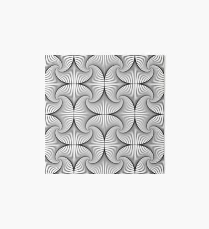 Monochrome Pattern  Art Board Print
