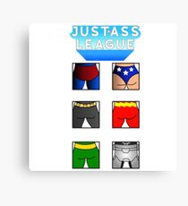 The league of asses Canvas Print