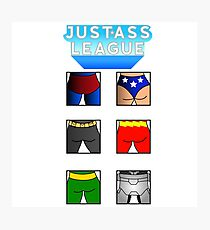 The league of asses Photographic Print
