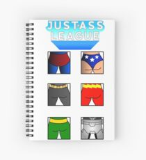 The league of asses Spiral Notebook