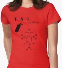 TNT - explosive Fitted T-Shirt