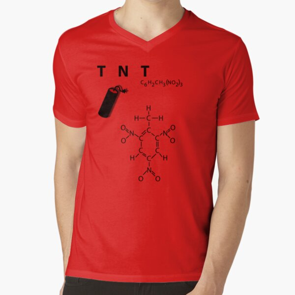 TNT - explosive V-Neck T-Shirt